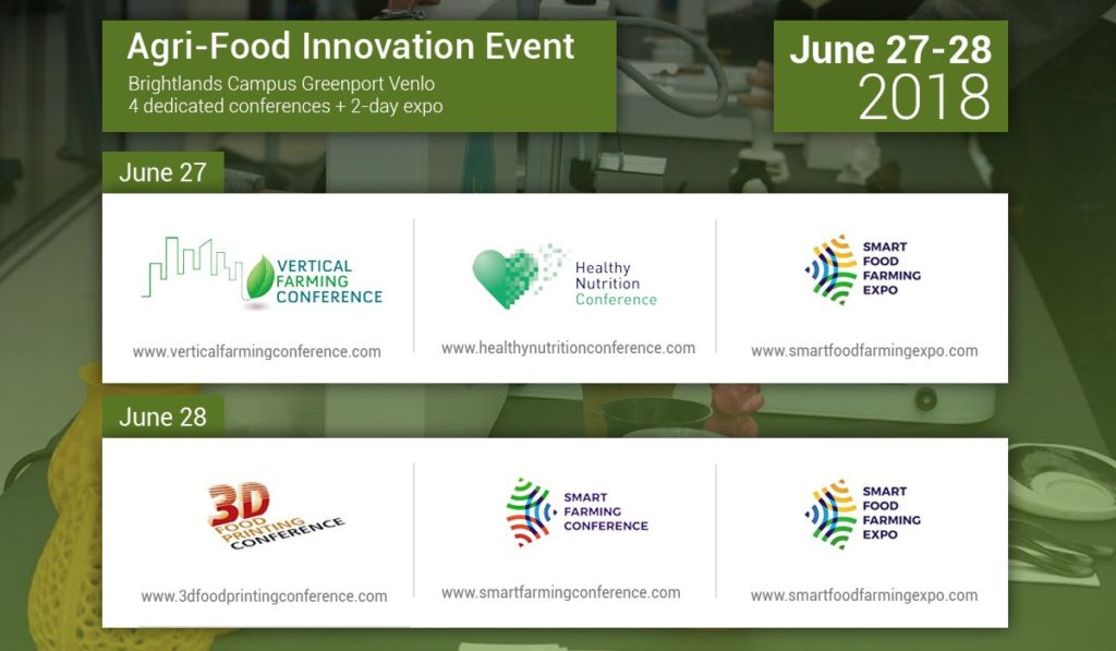 Vertical Farming Conference, Brightlands Campus – Growing a large crop yield in a small footprint